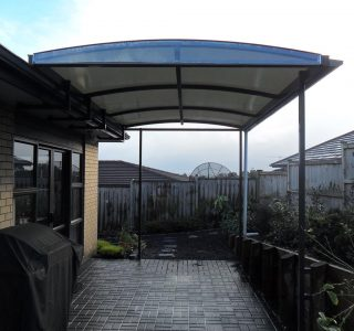 TMS Residential 41 320x300 - Fixed Frame PVC Canopies (Tensioned Membrane Structure)