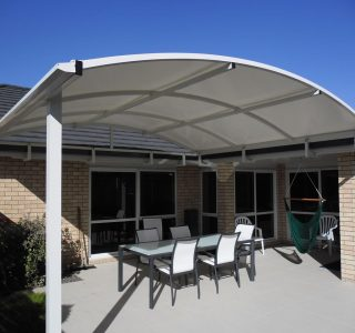 TMS Residential 42 320x300 - Fixed Frame PVC Canopies (Tensioned Membrane Structure)