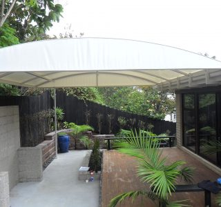 TMS Residential 46 320x300 - Fixed Frame PVC Canopies (Tensioned Membrane Structure)