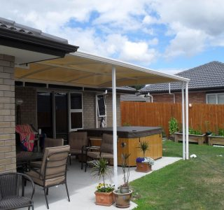 TMS Residential 49 320x300 - Fixed Frame PVC Canopies (Tensioned Membrane Structure)