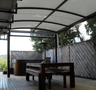 TMS Residential 57 320x300 - Fixed Frame PVC Canopies (Tensioned Membrane Structure)