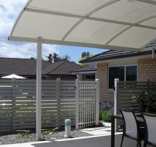 TMS Residential 58 320x300 - Fixed Frame PVC Canopies (Tensioned Membrane Structure)