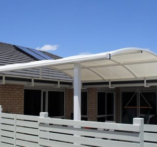 TMS Residential 60 320x300 - Fixed Frame PVC Canopies (Tensioned Membrane Structure)