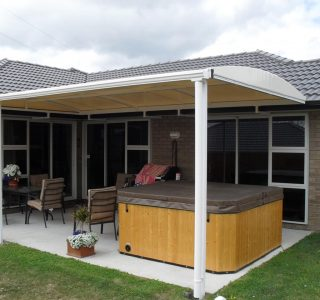 TMS Residential 9 320x300 - Fixed Frame PVC Canopies (Tensioned Membrane Structure)