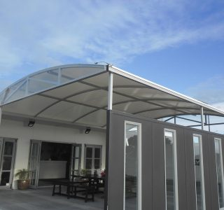 TMS commercial Pop up shop office 320x300 - Fixed Frame PVC Canopies (Tensioned Membrane Structure)