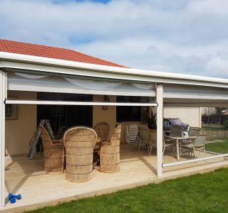 TMS with screens Residential 2 1 320x300 - Fixed Frame PVC Canopies (Tensioned Membrane Structure)