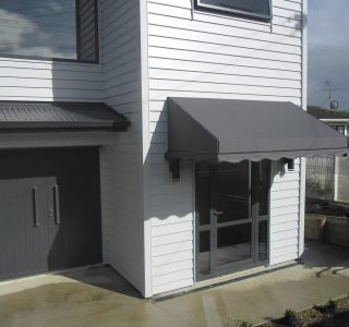 Wedge Awning Residential 8 320x300 - Fixed Frame PVC Canopies (Tensioned Membrane Structure)