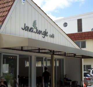 Wedge Awning commercial Java Jungle 320x300 - Fixed Frame PVC Canopies (Tensioned Membrane Structure)