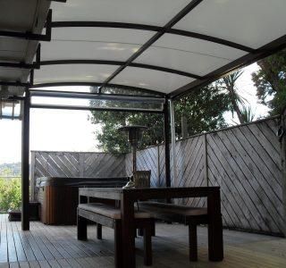Ziptrak Screens clear PVC Residential 1 320x300 - Fixed Panel Screens / Wind Break