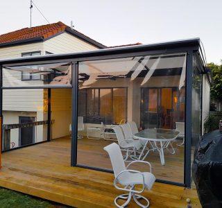 Ziptrak Screens clear PVC Residential 13 320x300 - Fixed Panel Screens / Wind Break