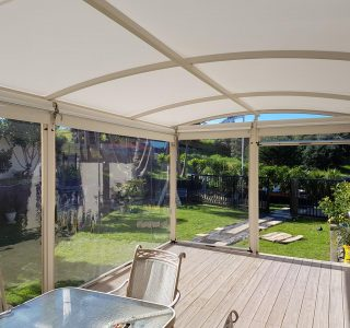 Ziptrak Screens clear PVC Residential 16 320x300 - Fixed Panel Screens / Wind Break