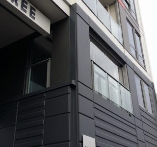 Ziptrak Screens clear PVC Residential 320x300 - Fixed Panel Screens / Wind Break