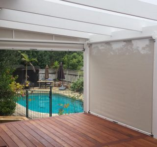 Ziptrak Screens mesh Residential 47 320x300 - Roller Blinds / Outdoor Curtains - Ziptrak®