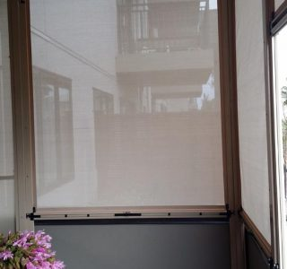 Ziptrak Screens mesh Residential 55 320x300 - Crank Screens / Roller Blinds / Outdoor Curtains