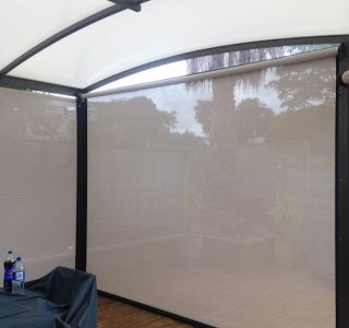 Ziptrak Screens mesh Residential 61 320x300 - Crank Screens / Roller Blinds / Outdoor Curtains