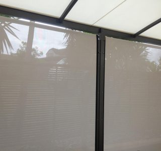 Ziptrak Screens mesh Residential 62 320x300 - Crank Screens / Roller Blinds / Outdoor Curtains