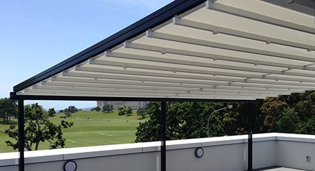 residential balcony retractable pergola roofs - Balcony