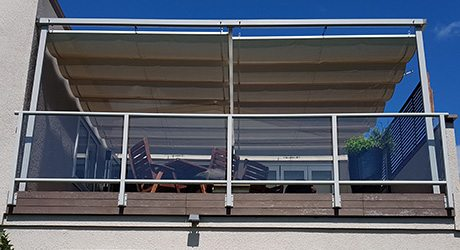 residential balcony wave shade - Balcony