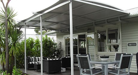 residential deck fixed frame awnings - Decks