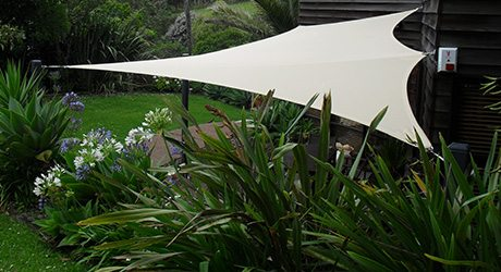 residential shade sails - Bach