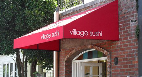 restaurants bars wedge shaped canopy - Commercial