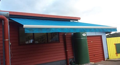 school retractable awnings - Schools