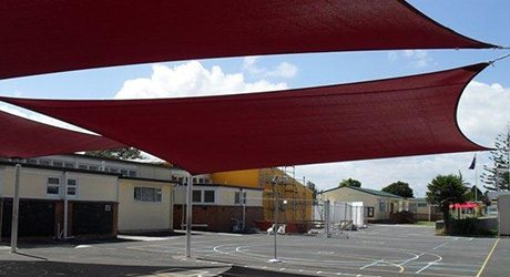 school shade sails - Commercial