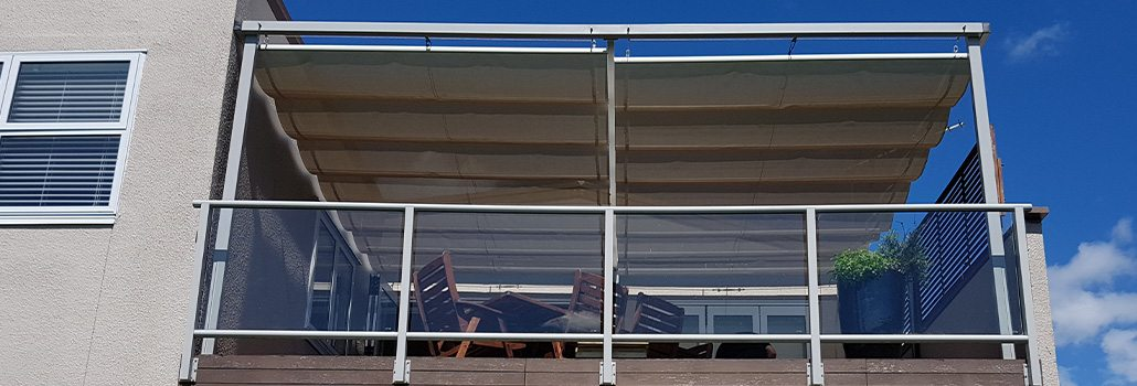 Residential Balcony Wave Shade
