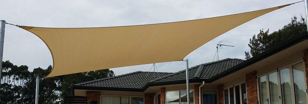 Residential Courtyard Shade Sail