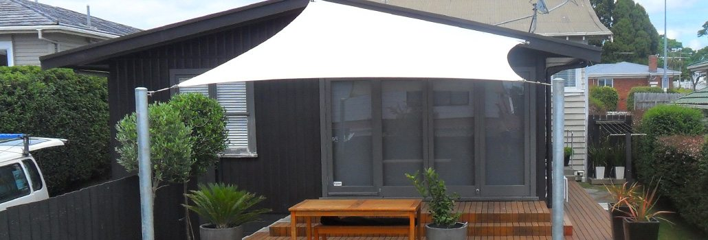 slide residential deck shade sails - Decks
