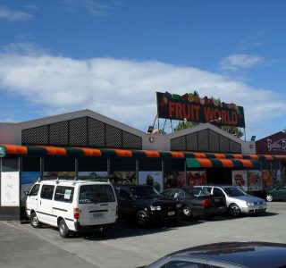 wedge awnings commercial fruit world markets 320x300 - Fixed Frame PVC Canopies (Tensioned Membrane Structure)