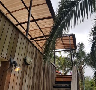 Fixed Frame Polycarbonate Canopy 2