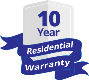 10 years residential warranty - Specials