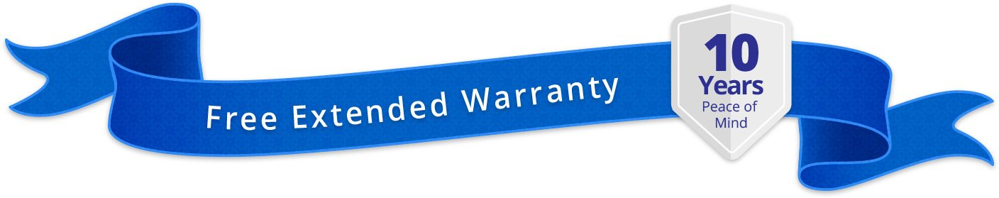 free extended warranty banner - Home