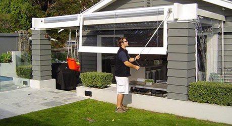 Crank Screens / Roller Blinds / Outdoor Curtains