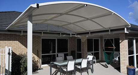 Fixed Frame PVC Canopies