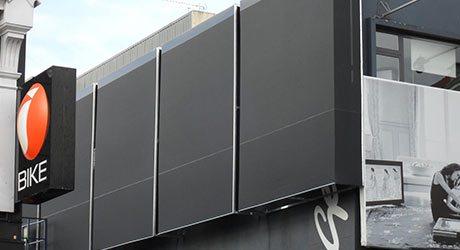 Fixed Panel Screens / Wind Break, NZ