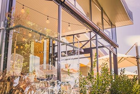 Cafe Outdoor Screens - Café's